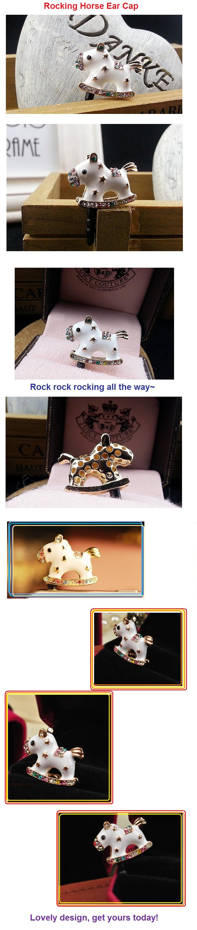 how to make rocking horse ears